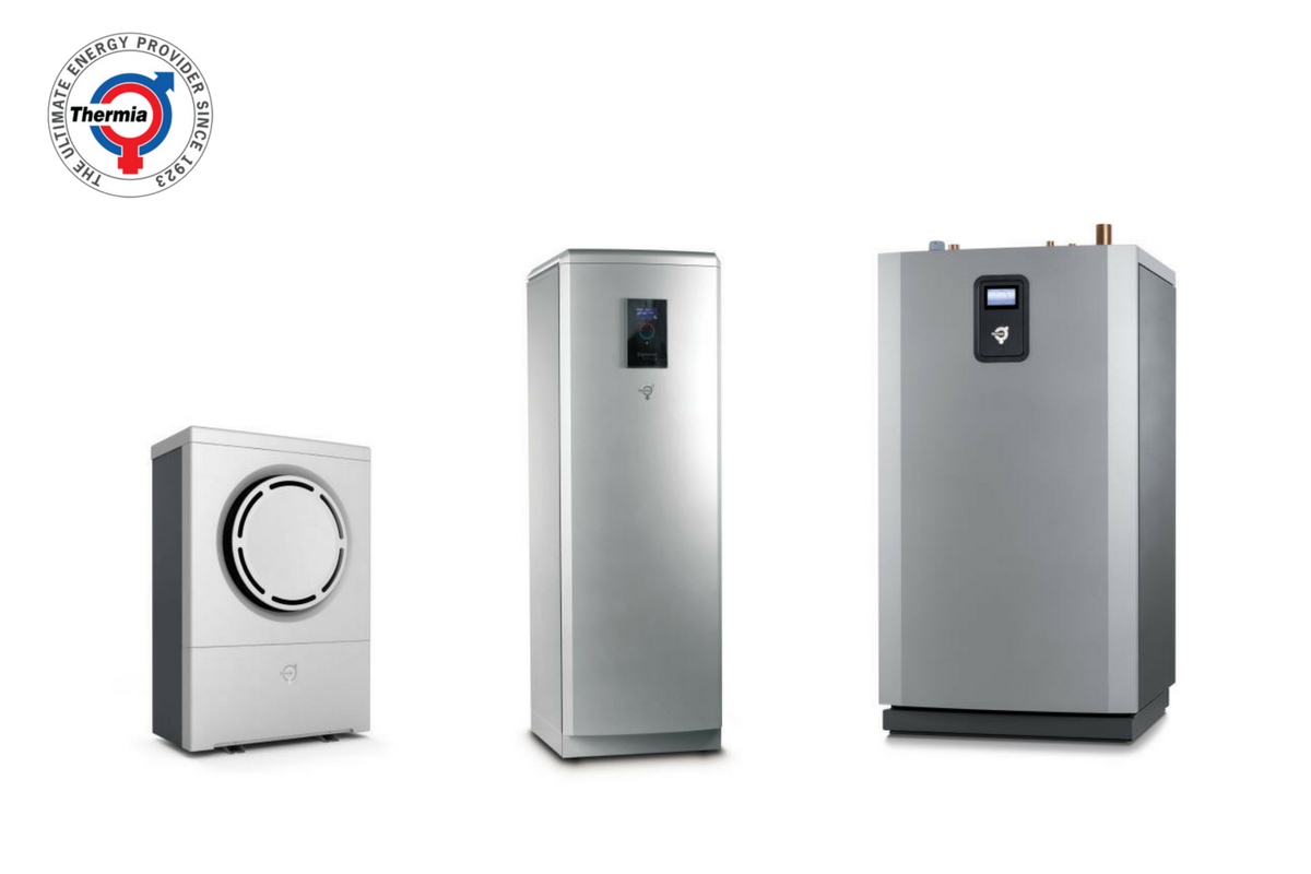 Selekcija toplotnih pumpi Thermia