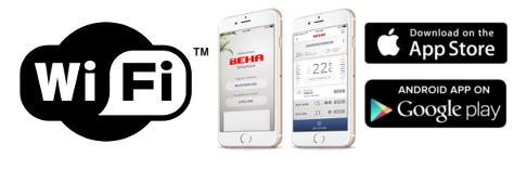 BEHA app Wi-Fi